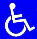 Disabled People Sign