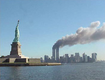 World Trade Center 9/11 - courtesy of Wikipedia.org