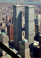 World Trade Center - March 2001, courtesy of Wikipedia.org